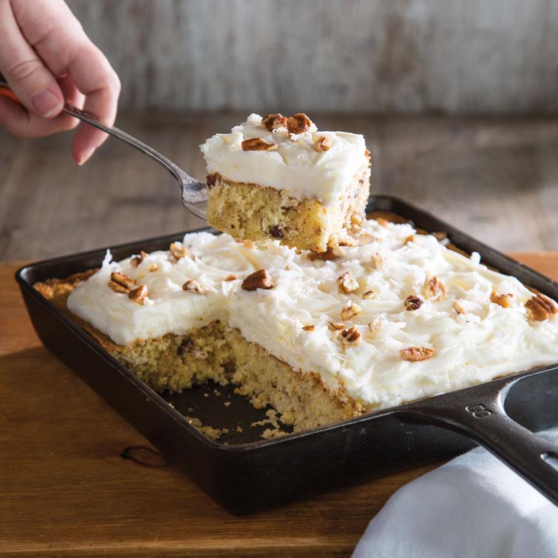 Italian Cream Skillet Cake Taste Of The South