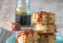 Brown Sugar Bacon Biscuits