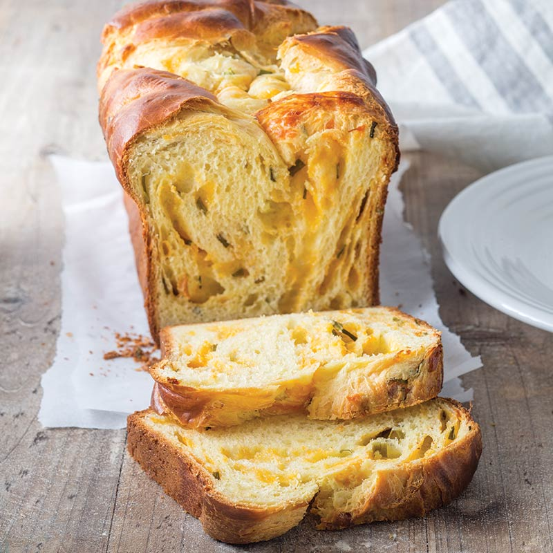 Buttermilk Cheddar and Chive Bread