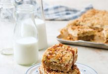 Cream Cheese Oat Bars