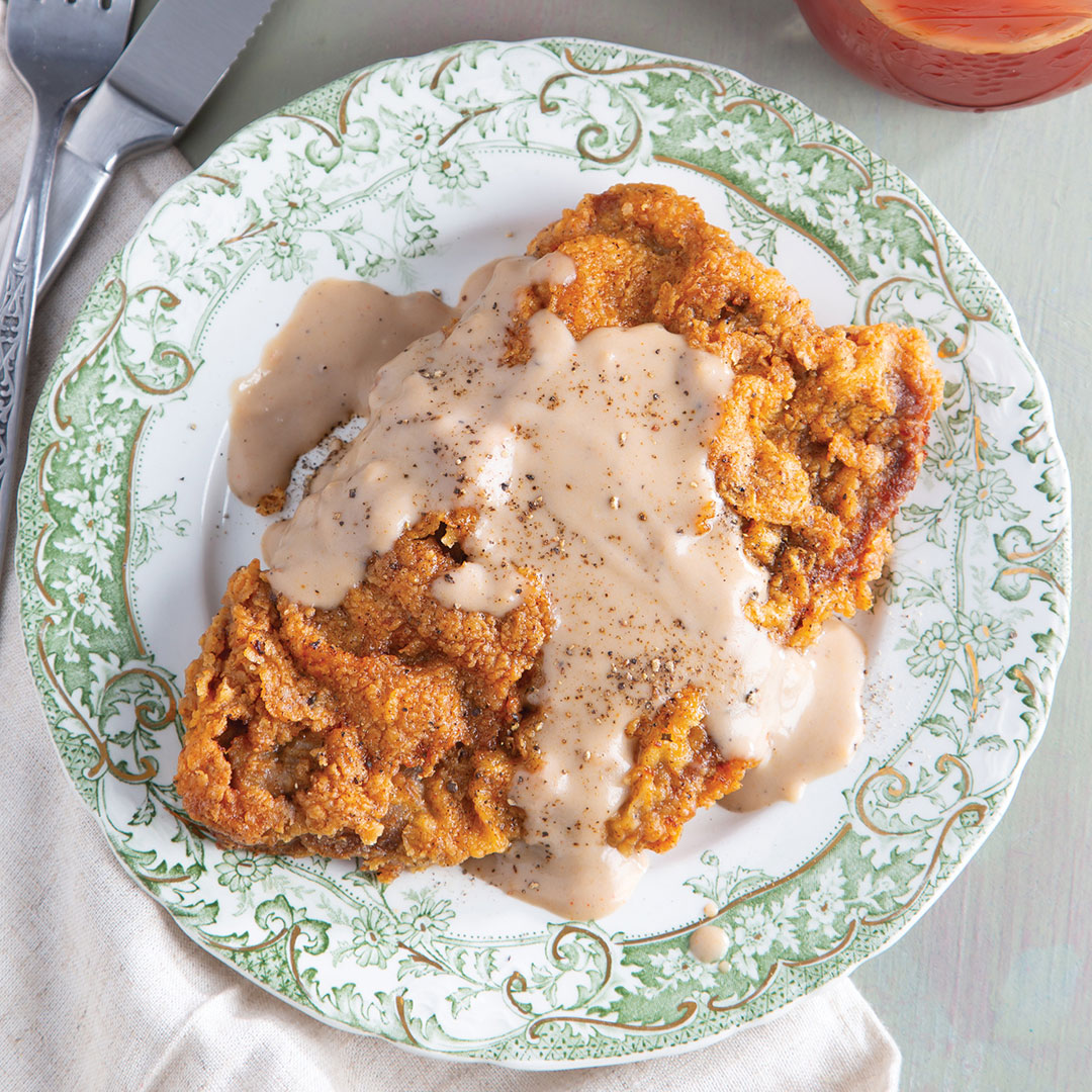 Chicken Fried Steak And Sweet Tea Gravy Taste Of The South