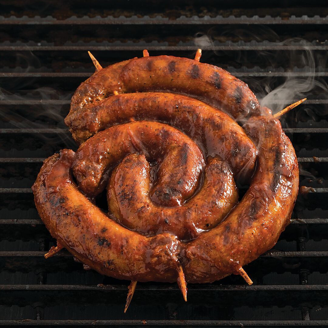 Grilled Sausage Round